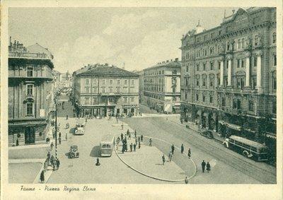 Fiume – Piazza Regina Elena