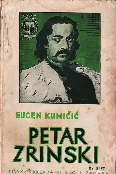 Petar Zrinski (prednje korice)