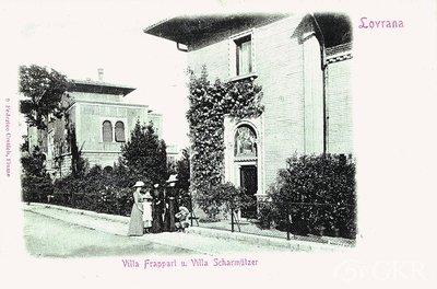 Lovrana. Villa Frappart u. Villa Scharmützer