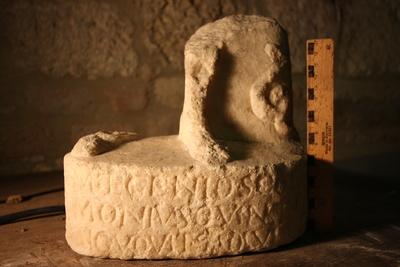 altar dedicated to Iuppiter and Genius scholae signiferorum
