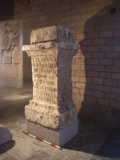 altar dedicated to Terra Mater