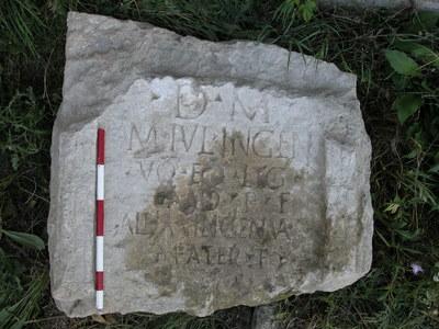 epitaph of M. Iulius Ingenuus