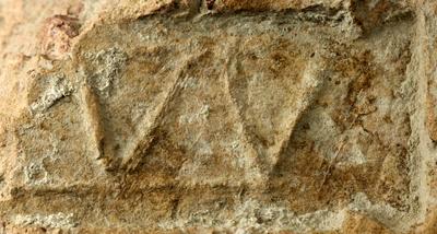 tile with stamp of the legio XXX Ulpia Victrix