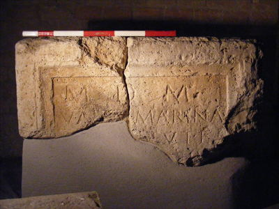 altar dedicated to Magna Mater