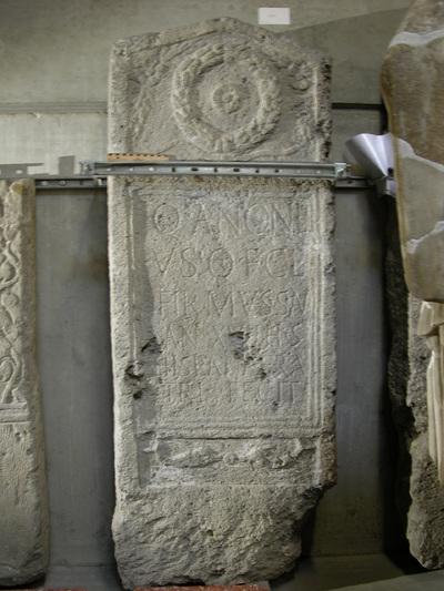 epitaph of Quintus Antonius