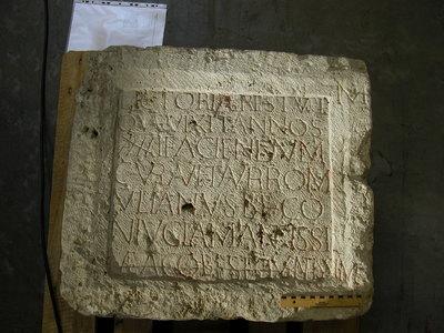 epitaph of Lictoria Restuta