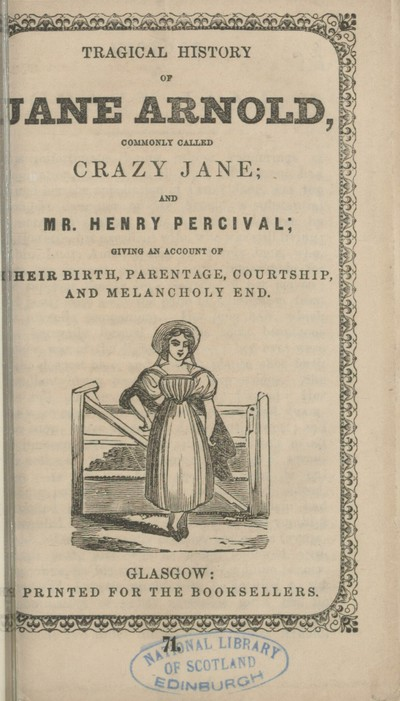 Tragical history of Jane Arnold