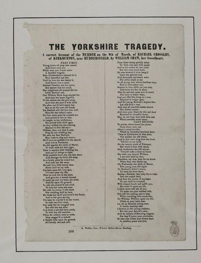 Yorkshire tragedy