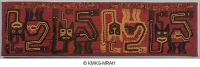 Textile fragment of a manto