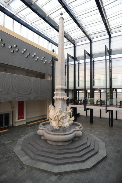 National Gallery of Slovenia 2009 Robba fountain 01