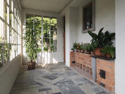 Plecnik House 2015 renovated winter garden interior