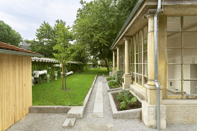 Plecnik House 2015 winter garden