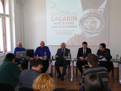 Russian Scientific and Cultural Centre Ljubljana 2011 Gagarin exhibition