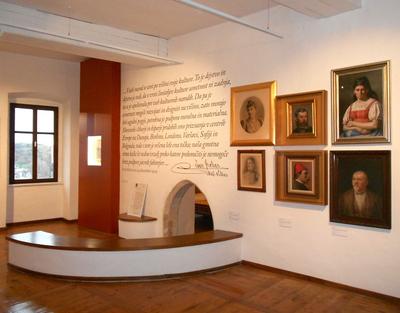 Loka Museum 2013 permanent exhibition Ivan Grohar