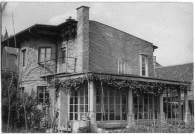 Plecnik House 1930 winter garden