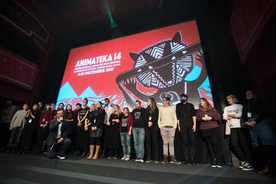 Animateka International Animated Film Festival 2017 team Photo Katja Goljat