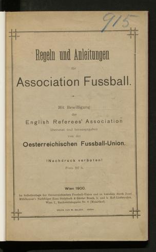 Regeln und Anleitungen für Association Fussball