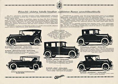 General Motors nimisen yhtiön viimeinen mestariteos: uusi Oldsmobile muoto 30