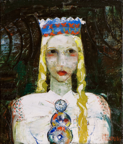 Girl in a Folk Costume