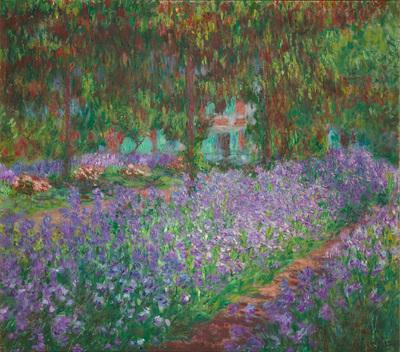 Le jardin de l'artiste à Giverny