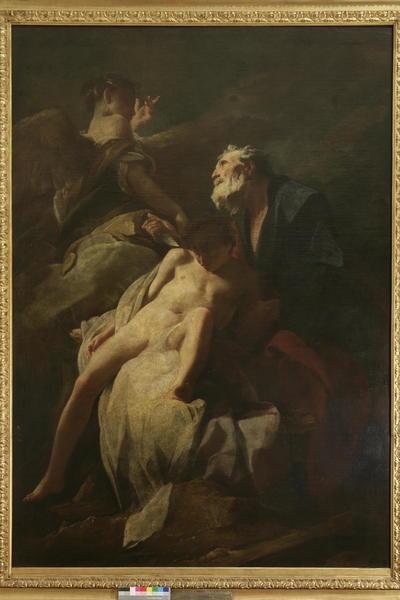 Abraham žrtvuje Izaka
