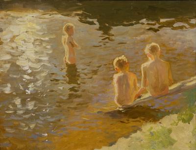 Bathing Boys