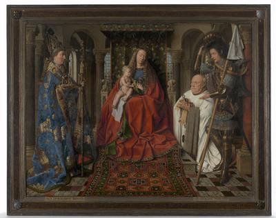 The Virgin and Child with Canon Joris Van der Paele