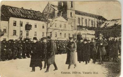 Kaunas. 1920 m. Vasario 16 d.