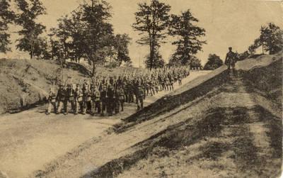 Narsi musų kariuomene, nežiurint į priešo ugnį, įsiveržia į Kalkunus