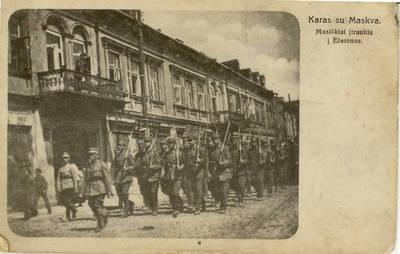 Atvirukas. Karas su Maskva. Musiškiai įtraukia į Ežerėnus.