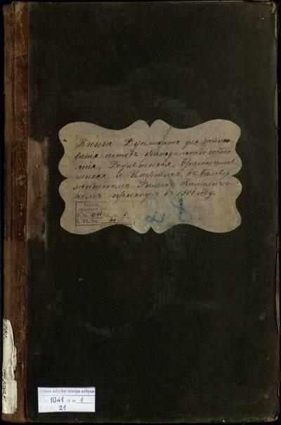 Balbieriškio RKB gimimo, santuokos ir mirties metrikų knyga (dublikatas). 1901 m.