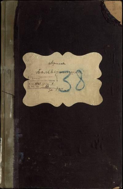 Balbieriškio RKB gimimo, santuokos ir mirties metrikų knyga (dublikatas). 1913 m.