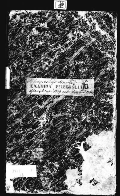 Tabariškių RKB 1859--1864 m. priešsantuokinės apklausos knyga ir 1865 m. parapijiečių sąrašas. 1859--1865 m.