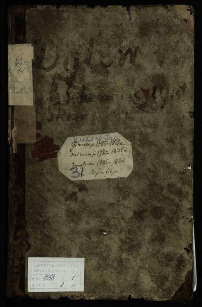 Kupreliškio RKB gimimo, santuokos ir mirties metrikų knyga. 1785--1827 m.