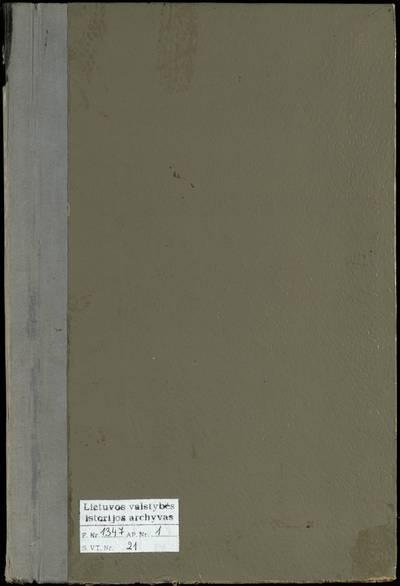 Babtų RKB 1917--1918 m., 1922--1938 m. mirties metrikų knyga. 1917--1918 m., 1922--1938 m.