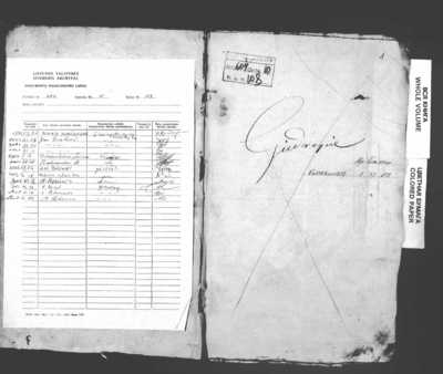 Giedraičių RKB gimimo, santuokos ir mirties metrikų nuorašų knyga. 1802--1818 m.