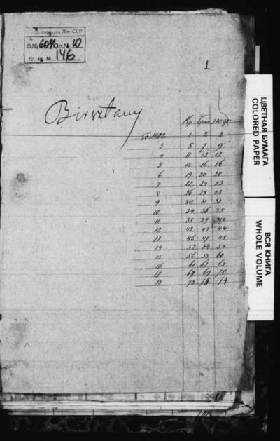 Birštono RKB gimimo, santuokos ir mirties metrikų knyga. 1802--1818 m.
