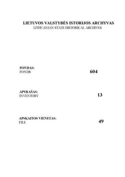 Punios RKB 1752--1778 m. gimimo, 1759--1798 m. santuokos, 1755--1798 m. mirties metrikų knyga ir Butrimonių filijinės bažnyčios 1767--1796 m. mirties metrikų nuorašų knyga. Miknolesų filijinės bažnyčios 1790--1797 m. santuokos, 1793--1795 m. mirties metrikų nuorašai. 1752--1798 m.