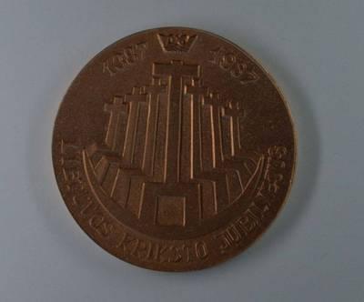 Medalis, skirtas Lietuvos krikšto 600-mečiui