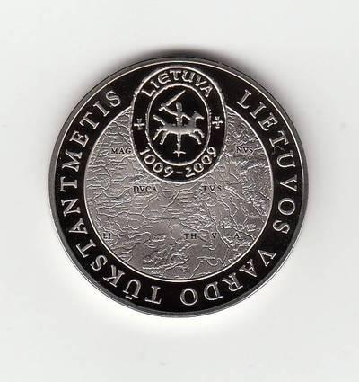 Giedrius Paulauskis. Medalis, skirtas Lietuvos vardo paminėjimo tūkstantmečiui