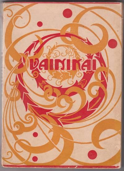"""Knyga. Sudarytojas Kazys Binkis. """"Vainikai : naujosios poezijos antologija"""""""