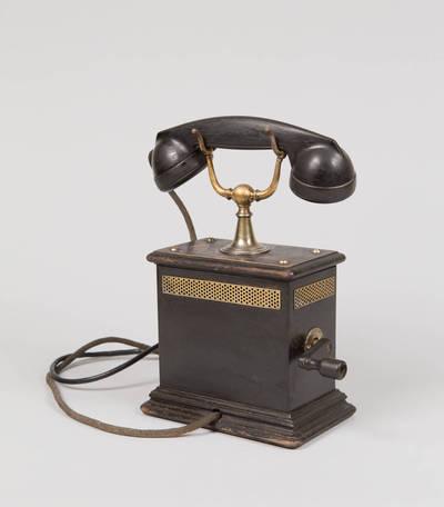 Telefono aparatas. 1875