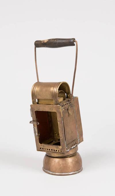 Geležinkelio signalinis žibintas. 1900