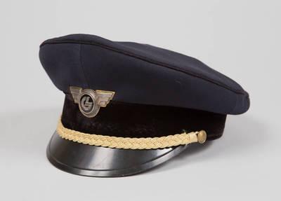 Lietuvos geležinkelių Generalinės direkcijos darbuotojo uniforminė kepurė