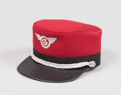 Lietuvos geležinkelių stoties budėtojo uniforminė kepurė (vyriška)