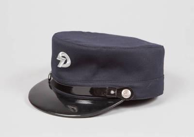Lietuvos geležinkelių darbuotojo uniforminė kepurė