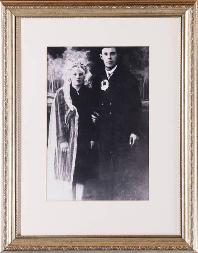 Zuzana ir Juozapas Burokai. - 1925