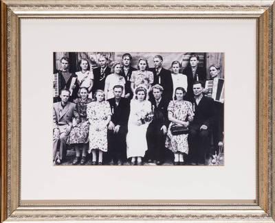 Jaunieji iš Trečiūnų k. - 1953