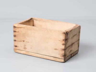 Dėžutė sviestui formuoti