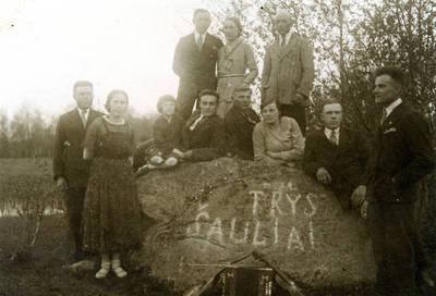 Juozas Karazija. Fotografija 21196. 1932